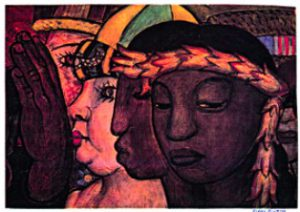 Diego Rivera painting for Survivor Resources