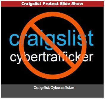 Craigslist Protest Image